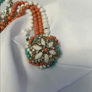 Broken vintage beaded necklace